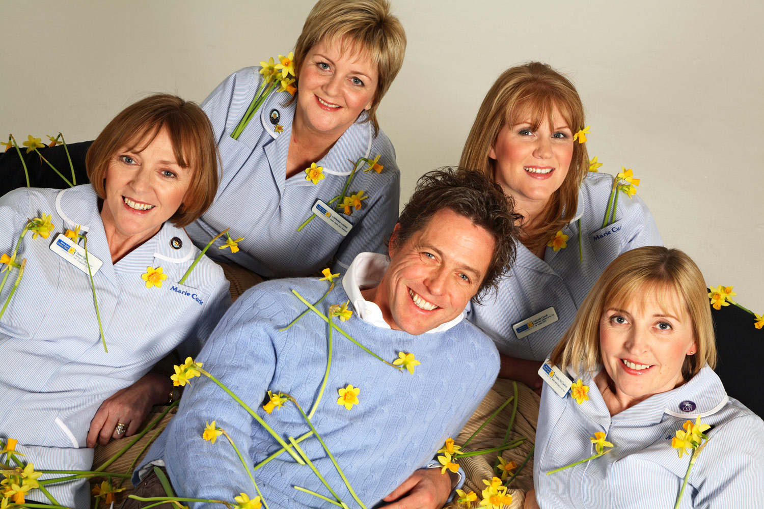 Hugh Grant for Marie Curie