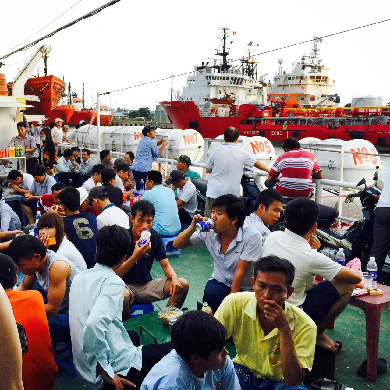 Con Dao Ferry, Vietnam