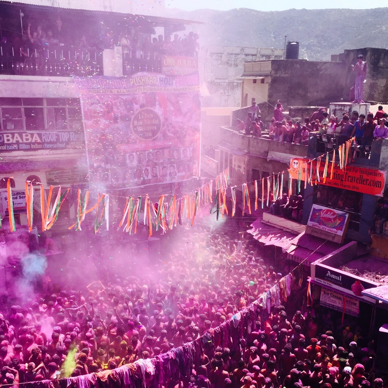 Holi Festival at Pushkar
