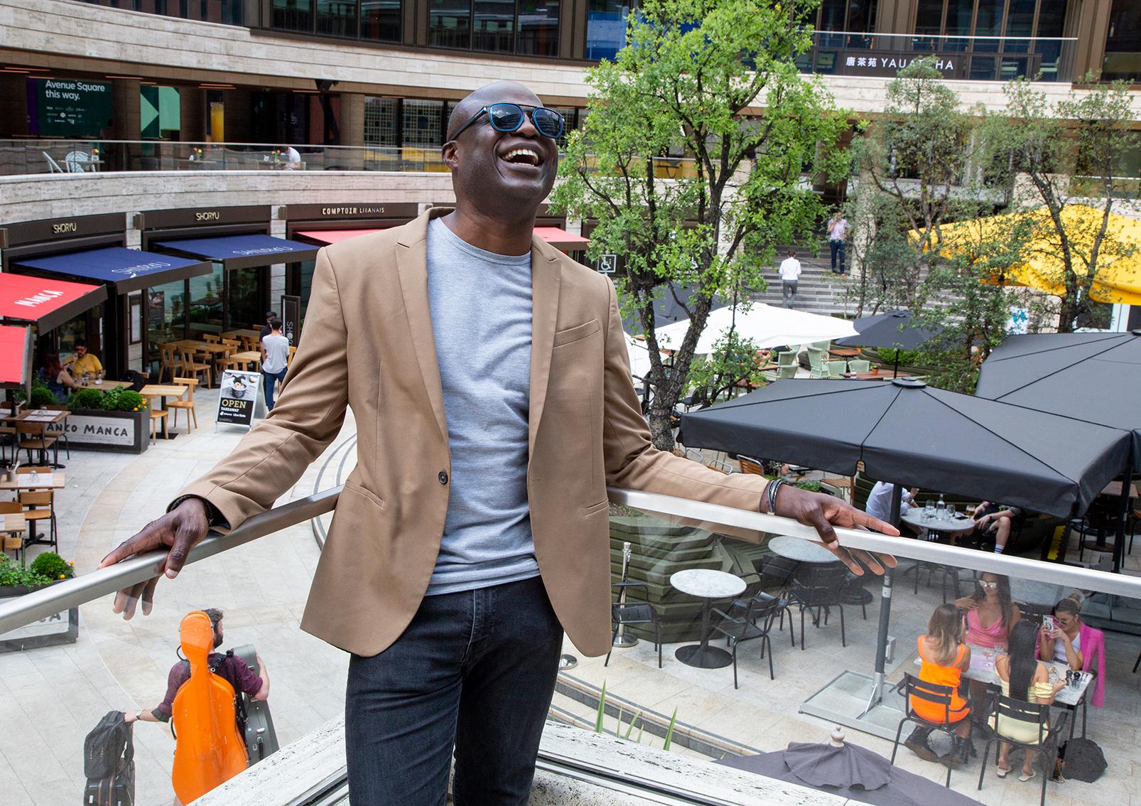 Ade Onagoruwa - Head of Employee relations, British Land, Ally