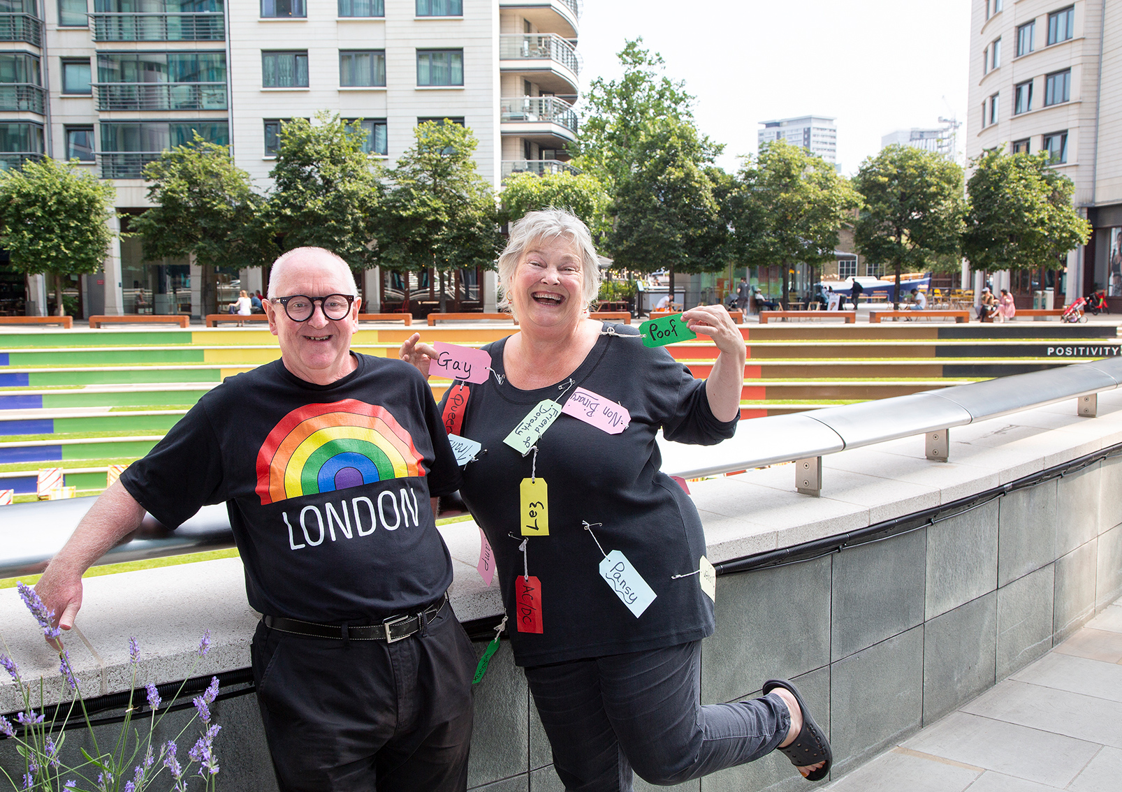Chris Barlow - Creative Consultant  & Trudy Howson - LGBT Poet Laureate