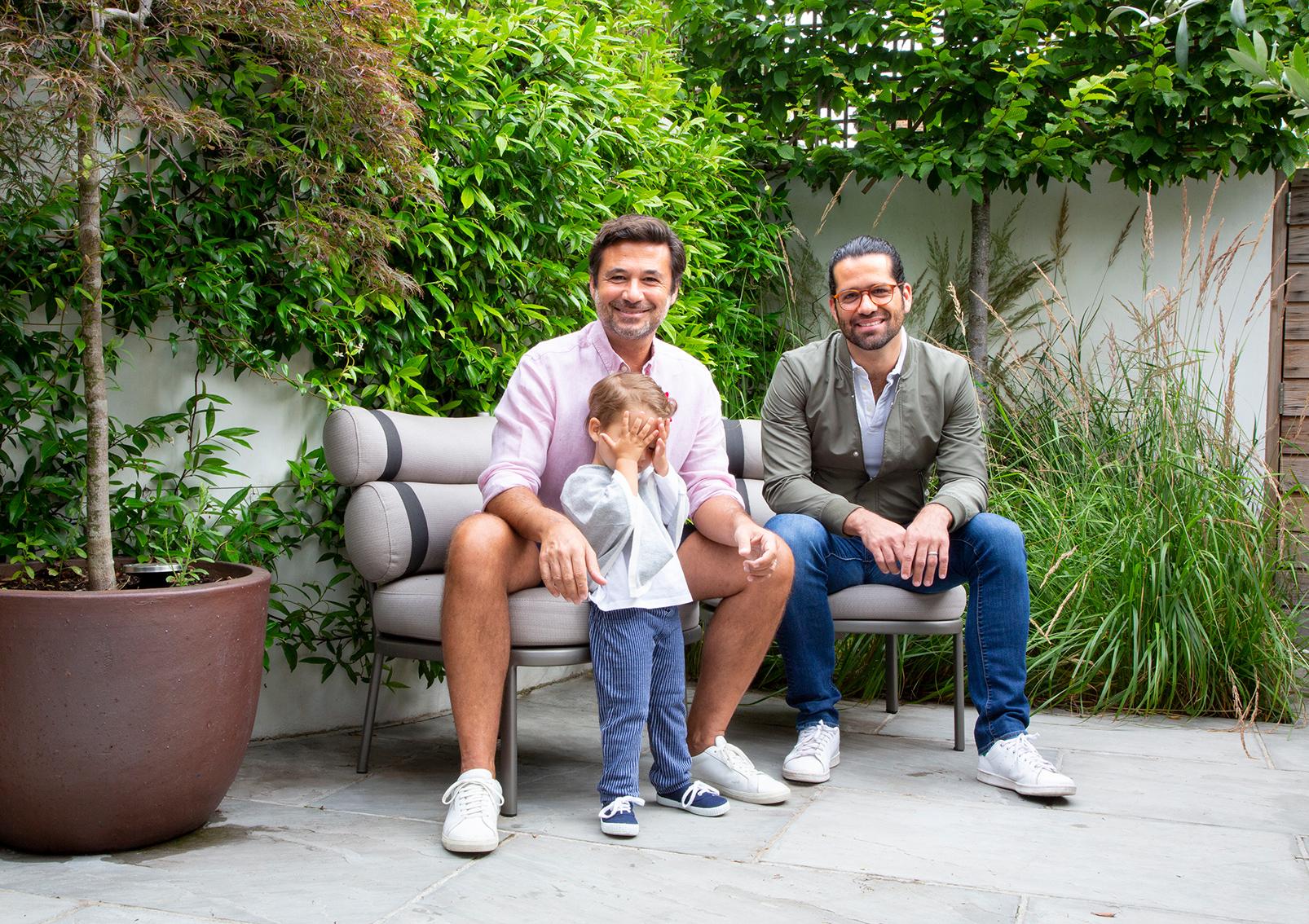 Pedro Pina (left) & Family - VP, Head of YouTube EMEA, Google