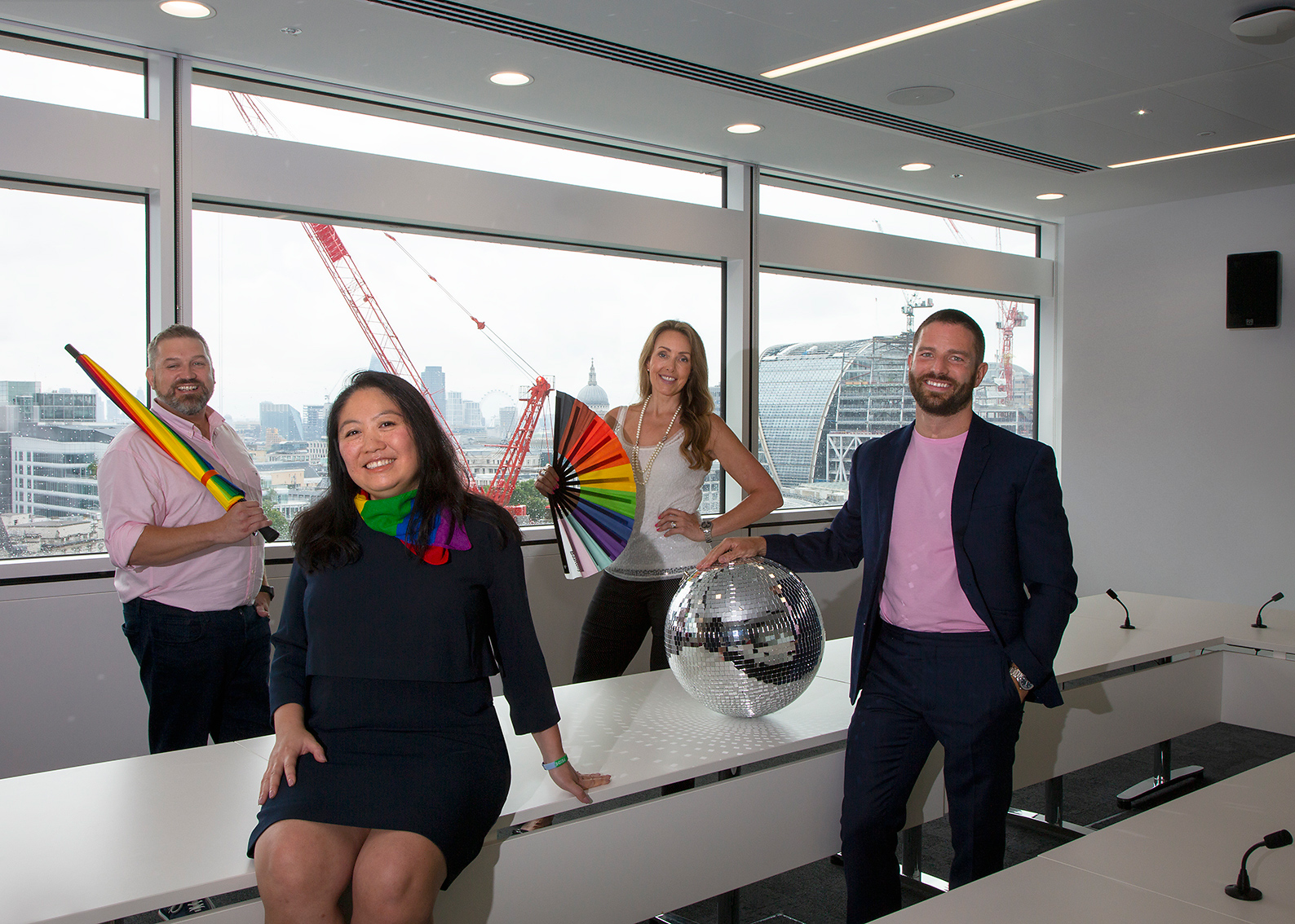 John Robarts - UK Head of Human Resources, UBS Group, Cicilia Wan - Global Head of Diversity, Equity & Inclusion, UBS Group, Lyssa Barber, Pierre-Antoine Fourny - UBS Pride UK